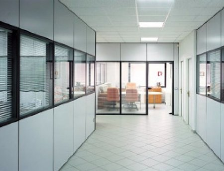 Estanteras metlicas prs tecnologas de almacenaje for Mamparas de vidrio para oficinas